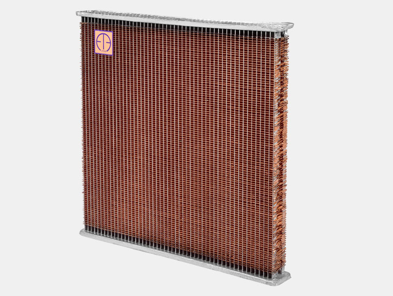 Eicher Truck Radiator Core 4 Rows H/D 25