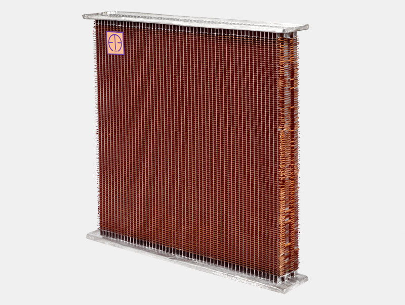 Tata 407 Truck Radiator Core 4 Rows H/D 25